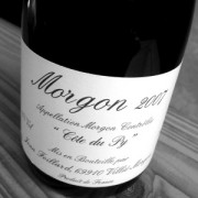 Morgon «Côte du Py» 2010 (J. Foillard)